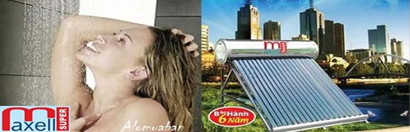 Máy Nước Nóng Mặt Trời Super MAXELL - Siêu thị vật tư nội thất giá tốt