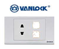 Con và ổ cắm tắc điện Sino Vanlock - Giá Tốt eNoiThat