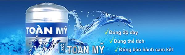 Bồn nước inox Toàn Mỹ 1000 lít - Giá Tốt eNoiThat