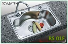 chậu rửa inox Romatek RS 01F - Giá Tốt eNoiThat