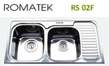 chậu rửa inox Romatek RS 02F - Giá Tốt eNoiThat
