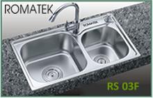 chậu rửa inox Romatek RS 03F - Giá Tốt eNoiThat