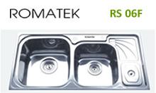 chậu rửa inox Romatek RS 06F - Giá Tốt eNoiThat