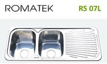 chậu rửa inox Romatek RS 07L - Giá Tốt eNoiThat