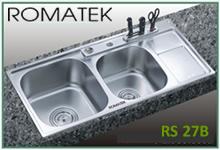 chậu rửa inox Romatek RS 27B - Giá Tốt eNoiThat