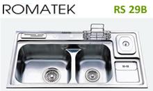 chậu rửa inox Romatek RS 29B - Giá Tốt eNoiThat