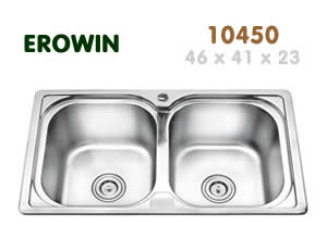 Chậu inox Erowin 10450 - Giá Tốt eNoiThat