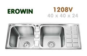 Chậu inox Erowin 12048V - Siêu thị vật tư nội thất giá tốt