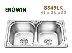 Chậu inox Erowin 8349LK - Siêu thị vật tư nội thất giá tốt