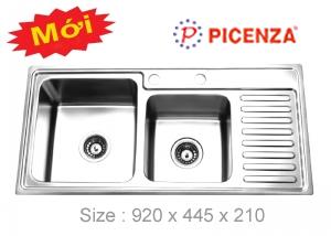 Chậu inox PICENZA PZ9245 - Giá Tốt eNoiThat