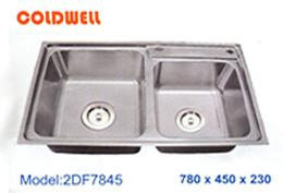 chậu inox Coldwell 2DF7845 - Giá Tốt eNoiThat