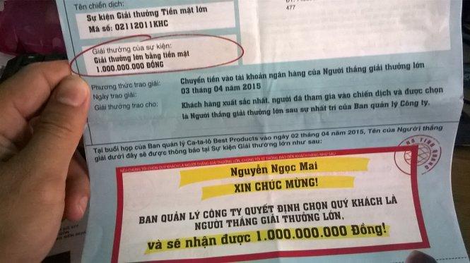 Cảnh giác với mua bán lừa đảo