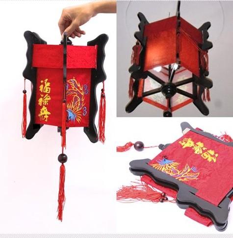Đèn giả kéo quân - Đèn lồng Hội An - Siêu thị vật tư nội thất giá tốt