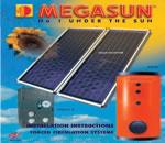 Bình Nước Nóng Mặt Trời Tấm Phẳng Megasun - Giá Tốt eNoiThat