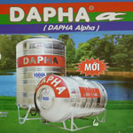 Bồn chứa nước inox Dapha Alpha