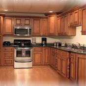 Giá tủ bếp gỗ các loại