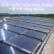 Giàn nước nóng năng lượng mặt trời công nghiệp