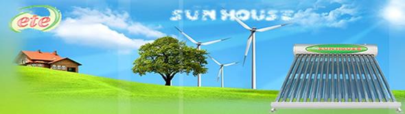 Máy nước nóng năng lượng mặt trời Sunhouse