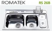 chậu rửa inox Romatek RS 26B