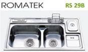 chậu rửa inox Romatek RS 29B