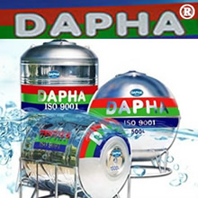 Bồn Inox Dapha R 5000 lít