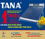 Máy nước nóng năng lượng mặt trời Tân Á