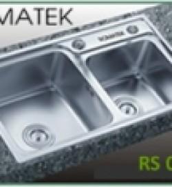 chậu rửa inox Romatek RS 05F