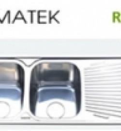chậu rửa inox Romatek RS 07L