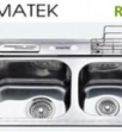 chậu rửa inox Romatek RS 25B