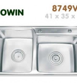 Chậu inox Erowin 8749V