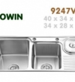 Chậu inox Erowin 9247V