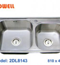 chậu inox Coldwell 2DL8143